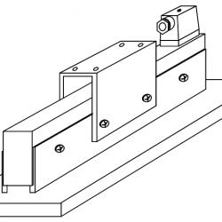 Bild eines Haftmagneten