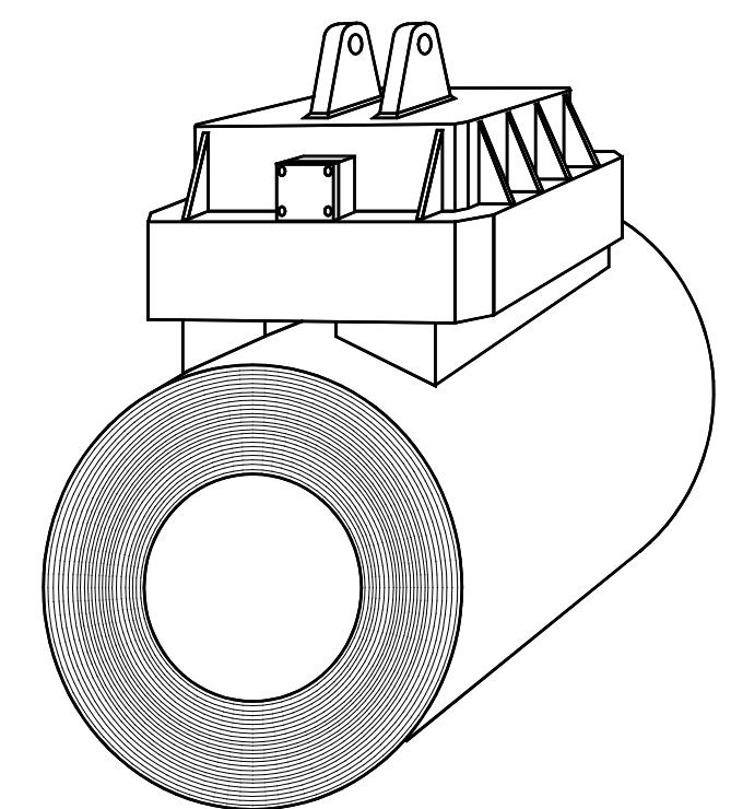 Bild eines Lasthebemagnet