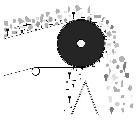 Bild eines Seperationsmagneten